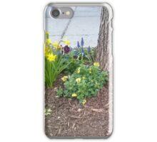 Walking by Urban Landscaping iPhone Case/Skin