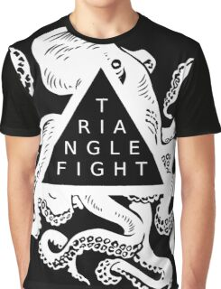 Triangle Fight Octo-Logo Graphic T-Shirt