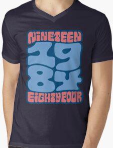 1984 Mens V-Neck T-Shirt