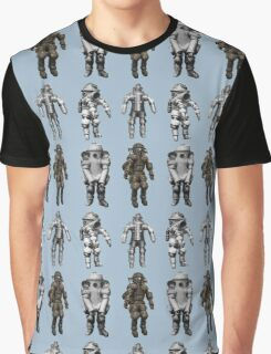Retro Vintage Deep Sea Diver Collection Graphic T-Shirt