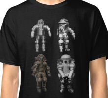 Retro Vintage Deep Sea Diver Collection Classic T-Shirt