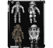 Retro Vintage Deep Sea Diver Collection iPad Case/Skin