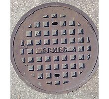 The Sewer  Photographic Print