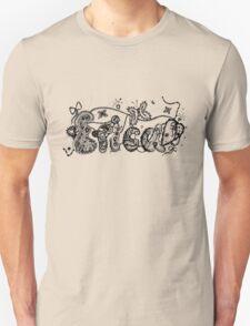 Erica - Aussie Tangled Name Unisex T-Shirt