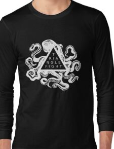 Triangle Fight Octo-Logo Long Sleeve T-Shirt