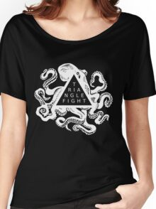 Triangle Fight Octo-Logo Women's Relaxed Fit T-Shirt