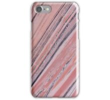 Pink Grey Marble  iPhone Case/Skin