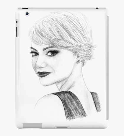Emma Drawing iPad Case/Skin