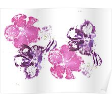 Pink and Purple Poster