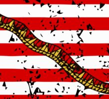 Navy Jack Flag Sticker