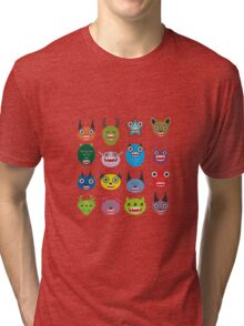 Monster set Tri-blend T-Shirt
