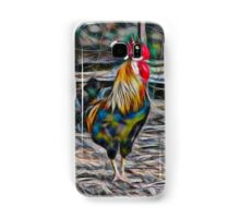 Bold Abstract Rooster Samsung Galaxy Case/Skin