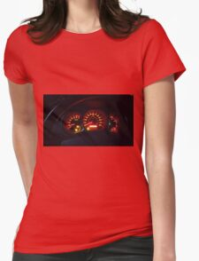 Uh-oh! Womens Fitted T-Shirt