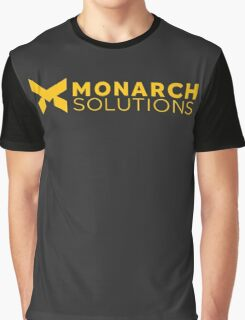 Quantum Break - Monarch Solutions Graphic T-Shirt
