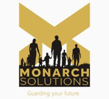 "Quantum Break - Monarch Solutions ""Guarding Your Future"" Kids Tee"