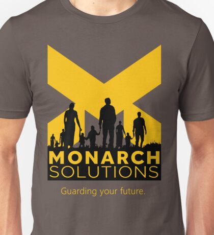 "Quantum Break - Monarch Solutions ""Guarding Your Future"" Unisex T-Shirt"