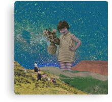 Hey look there Canvas Print