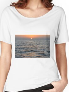 Sunset by the sea. Women's Relaxed Fit T-Shirt