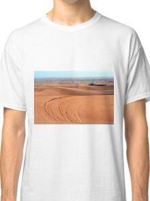 Sand dunes in the desert. Classic T-Shirt