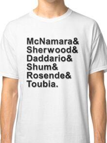 Shadowhunters Names Classic T-Shirt