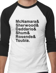 Shadowhunters Names Men's Baseball ¾ T-Shirt