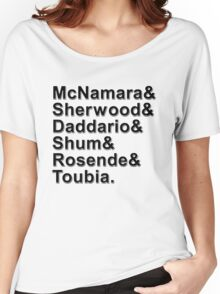 Shadowhunters Names Women's Relaxed Fit T-Shirt