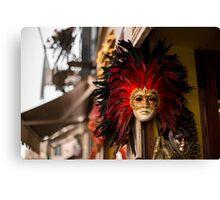 masquerade mask Canvas Print