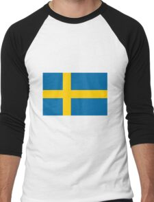 Sweden Men's Baseball ¾ T-Shirt
