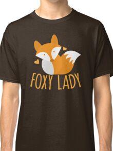 Foxy lady super cute kawaii foxy Classic T-Shirt