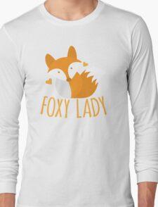 Foxy lady super cute kawaii foxy Long Sleeve T-Shirt