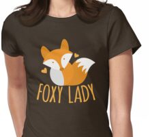 Foxy lady super cute kawaii foxy Womens Fitted T-Shirt
