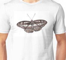 Butterfly- Brown Unisex T-Shirt