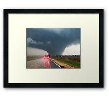 Rochelle Illinois EF-4 Tornado Framed Print