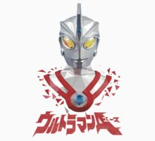 LOW POLYGON PORTRAIT - ULTRAMAN ACE VER 2 One Piece - Short Sleeve