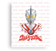 LOW POLYGON PORTRAIT - ULTRAMAN ACE VER 2 Canvas Print