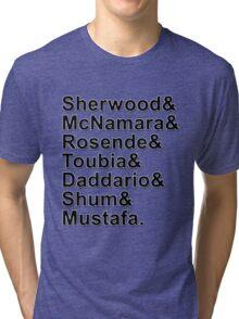 Shadowhunters Cast Names Tri-blend T-Shirt