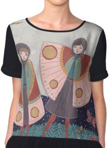 Children of the Moon Chiffon Top