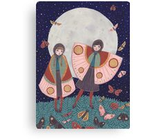 Children of the Moon Canvas Print
