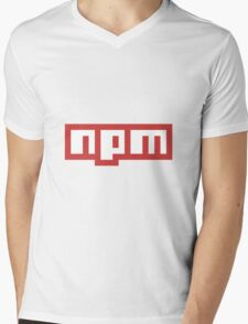 NPM JS Mens V-Neck T-Shirt