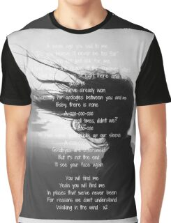 One Direction - Walking In The Wind  Graphic T-Shirt