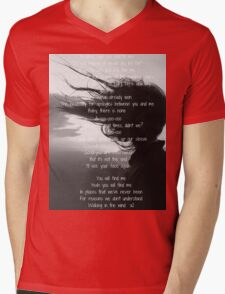 One Direction - Walking In The Wind  Mens V-Neck T-Shirt