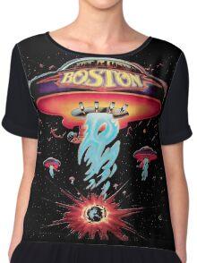 BOSTON BAND TOUR Chiffon Top