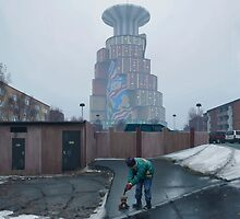 Den Ryska Nallen by Simon Stålenhag