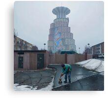 Den Ryska Nallen Canvas Print