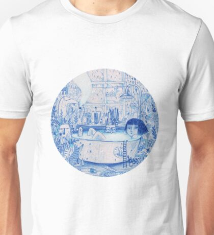 Blue Bath Unisex T-Shirt