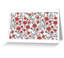 Hipster Flowers Greeting Card