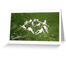 Seventeen love and letter Greeting Card