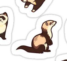 cat snakes Sticker