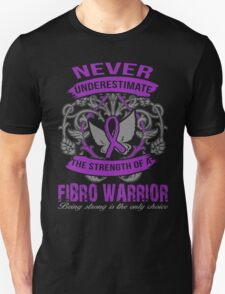 Fibromyalgia Awareness - Fibro Warrior T-Shirt / Sticker Unisex T-Shirt