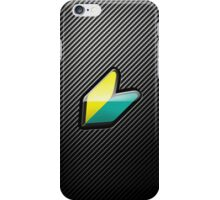Wakaba Carbon iPhone Case/Skin
